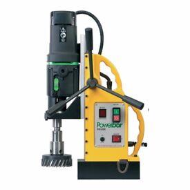Powerbor PB100 E Magnetic Drilling Machine 100mm Diameter x 50mm Depth New