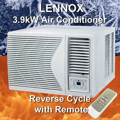 Lennox 3.9kW Reverse Cycle Window Wall Room Air Conditioner with Remote Control