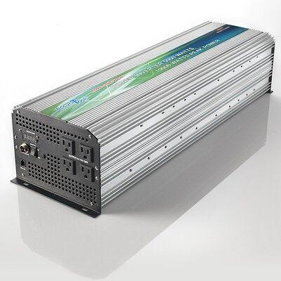 ADVANCED PURE SINE WAVE POWER INVERTER 5000/10000 WATT 12VDC TO 120V AC OPEN BOX