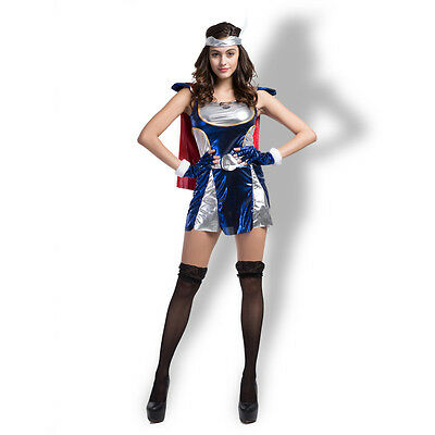 Halloween dress for women super Heroes costumes Thor cosplay Performance clothes - Thor Womens Halloween Costume