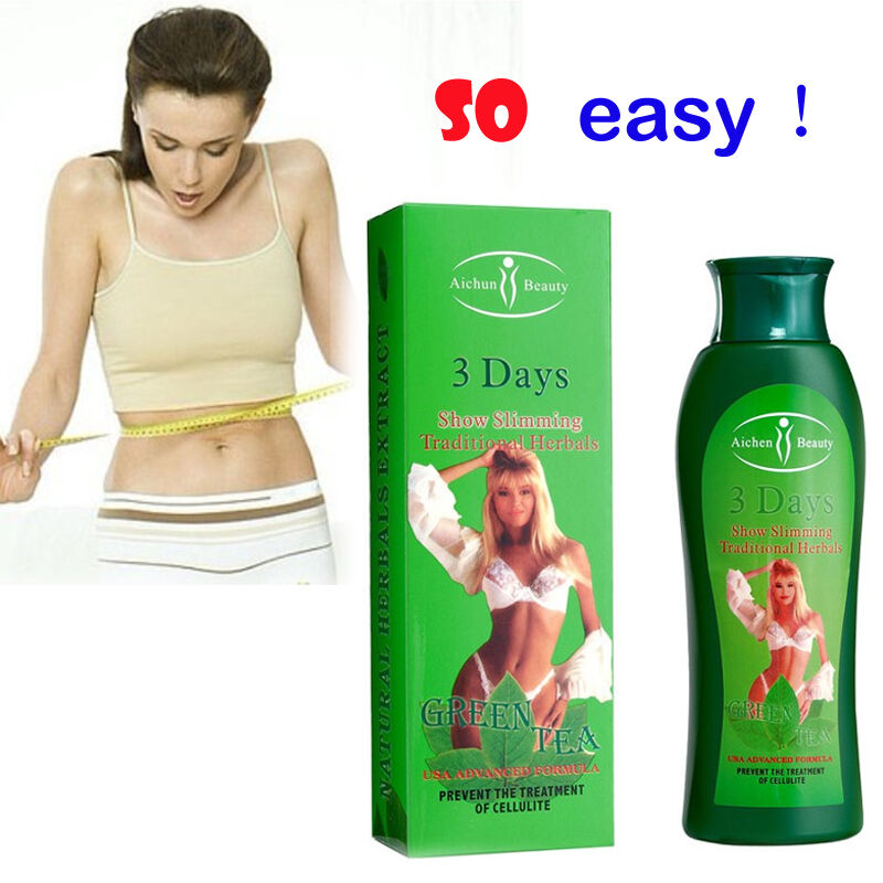 Green tea Slimming Cream Cellulite Removal Fat burning Slim Lose weight Fast