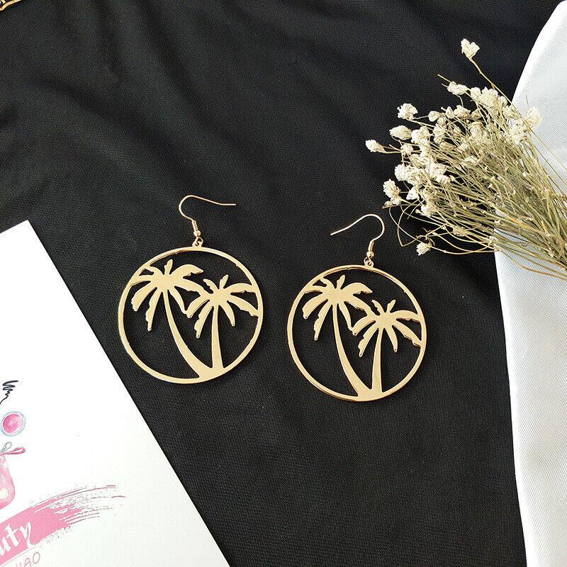 Long Green Flower Women Elegant Fashion Earrings Drop Dangle Crystal Jewelry New 10