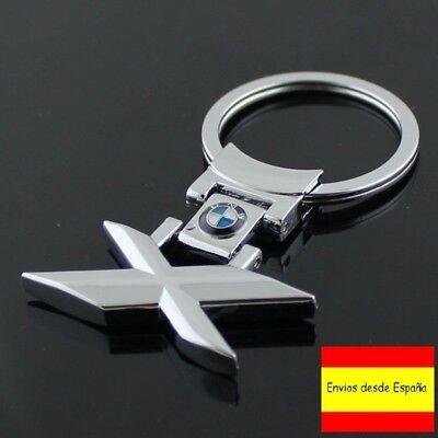 LLAVERO BMW LOGO LOGOTIPO SERIE X X1 X3 X5 X6 KEYCHAIN MAXIMA CALIDAD