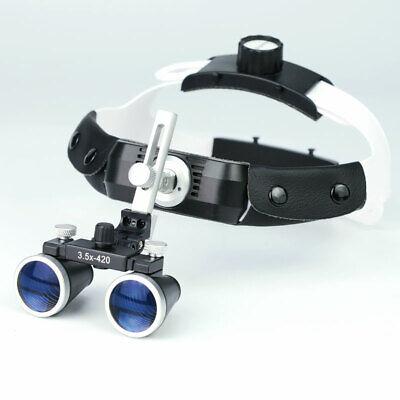 2.5x 3.5x Dental Surgical Binocular Loupe Medical Headband Magnifier For Dentist