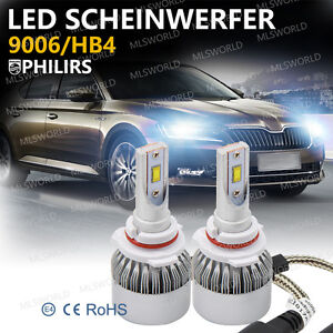 Philips 180W 9006/HB4 CANBUS LED Scheinwerfer Birnen Leuchte Headlight Kit 6000K