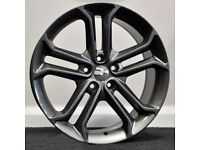 """18"""" Ford ST3 ( Gunmetal) style alloy wheels & tyres to suit most Ford models (5x108)"""