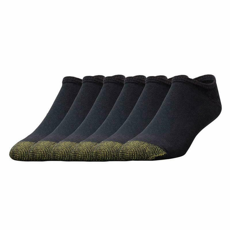 Gold Toe Mens Big & Tall Cotton Crew Socks , Shoe Size 12-16