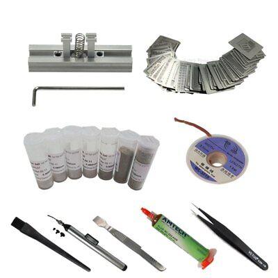 Bga Reballing Kit 29pcs Directly Heat Stencils Universal Solder Flux Balls