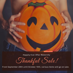 Thankful Sale Starts Today! and Ends October 10th!!