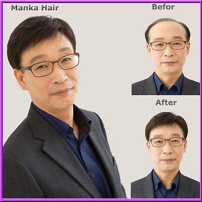 Hot Sale! Fashion 100% Human Hair Wig for Men Hair Cheap Hair Wig Hairpiece R008 - Cheap Wigs For Men