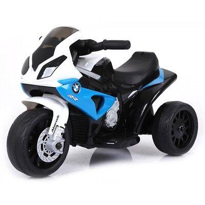 Moto Motocicletta Elettrica per Bambini 6V BMW Blu