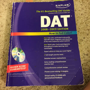 DAT BOOKS FOR SALE (PACKAGE OF 9) $200