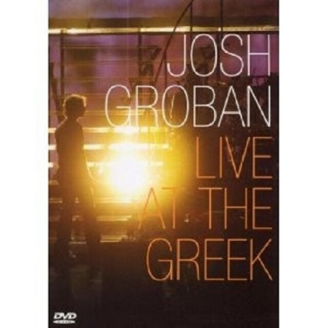 JOSH GROBAN - LIVE AT THE GREEK DVD + CD NEU