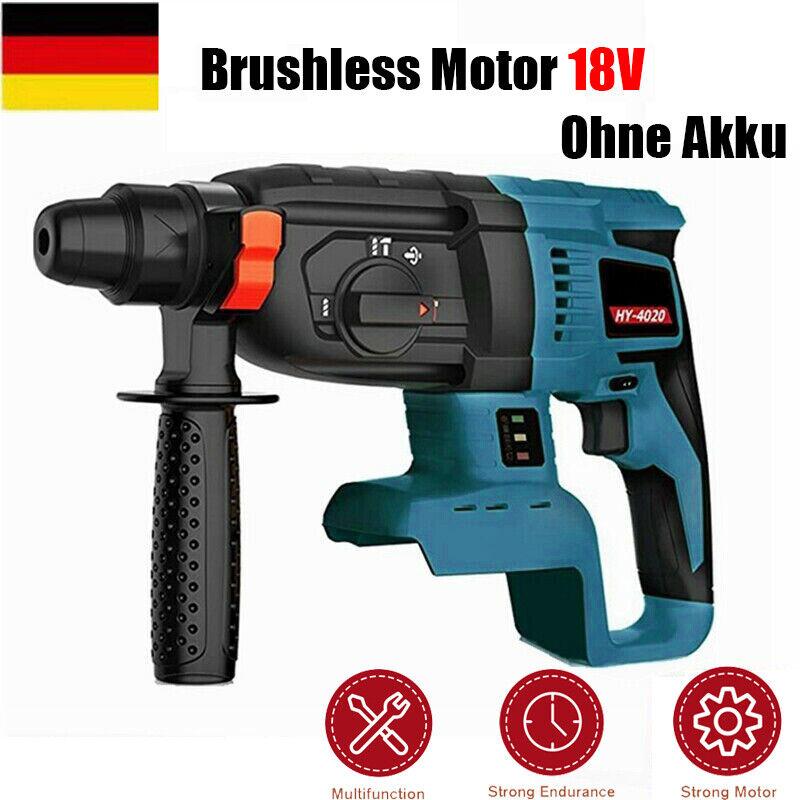 18V Akku Bohrhammer für Makita SDS Plus Hammer Drill Bohrmaschine DHR242 DHL