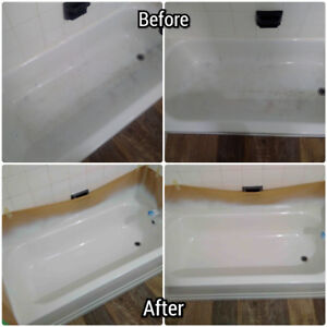 Bathtub & Tile Restoration, Grout Cleaning & Caulking Renewal