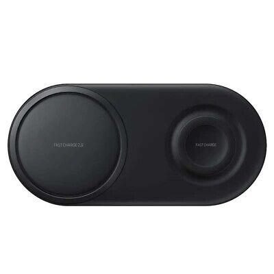 Samsung EP-P5200 Wireless Charger Duo Pad schwarz kabelloses Laden Schnellladen Wireless Pad