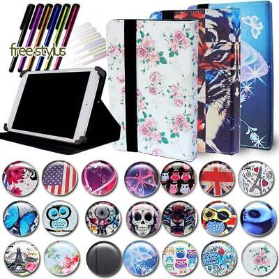 """LEATHER STAND Cover CASE For 6"""" 7"""" 10"""" Kobo Arc/Aura/Clara/T"""