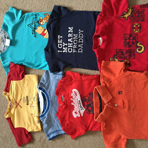 T-shirts 6-12 months old
