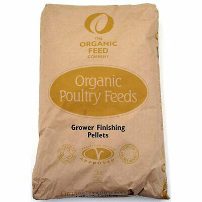5KG - Allen & Page Organic Poultry Feed Company Grower / Finishing Pellets AP120