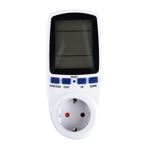 AC power meter 220v digital wattmeter energy monitor electricity consumption KI