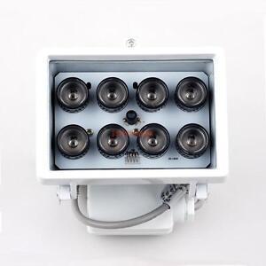 Indoor&Outdoor 8 LED 263 Ft Night Vision IR Illuminator For CCTV Camera Security