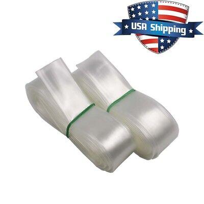 1-14in30mm Diameter Clear Transparent Heat Shrink Tubing Shrinkable Tube 30ft