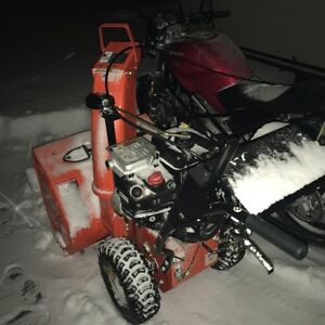 """used 27"""" ariens snow blower - souffleuse ariens 27"""" usager"""