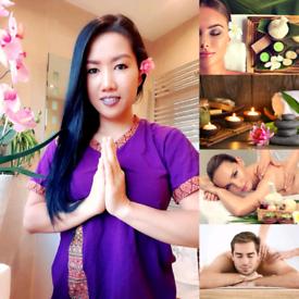 Relax Thai massages Hot oil /full body