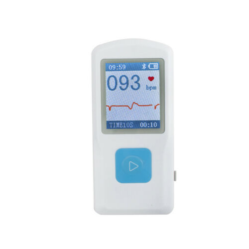 FDA PM10 Portable Handheld ECG EKG Monitor Patient Heart Rate Machine+USB Cable