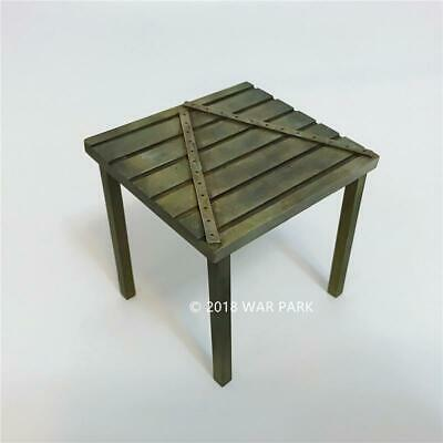 War Park Military Collection WWII War Scene Fortifications Shed 1/30 Model WS005