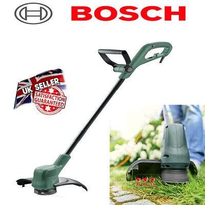 Electric Grass Trimmer Garden Lawn Heavy Duty Weed Strimmer Cutter Bosch 23cm uk