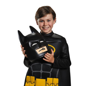 NEW: Lego Movie Batman Deluxe Kids Costume - (Size: 4-6)