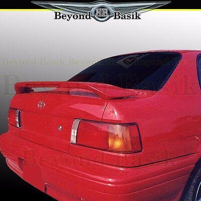 For 1991-1994 Toyota Tercel Custom Style Rear Trunk Spoiler Wing w/Light PRIMER