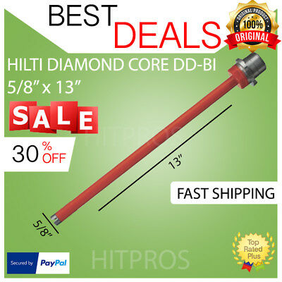Hilti Diamond Core Bit Dd-bi 58 X 13 P4 Brand New Strong Fast Shipping