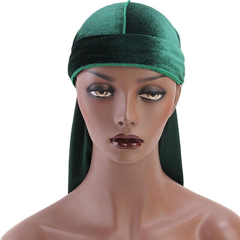 Men Women Durag Hats Doo Rag Scarf Bandana Band Casual Headwear Caps Headwrap Clothing, Shoes & Accessories