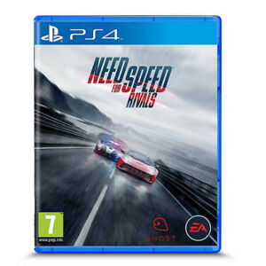 ps4 need for speed rivals and a blu ray wonder woman