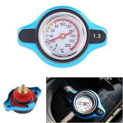 1.3Bar Car Vehicle Radiator Cap Cover Water Temperature Meter Thermostatic Gauge