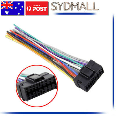 15-009 Car Stereo Adaptor for Sony JVC Harness Wiring Connetor Wire Plug Adapter Car Stereo Wire Adapter