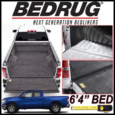 """BEDRUG Custom Fit Bed Liner Mat fits 2019-2020 Dodge Ram 1500 with 6'4"""" BED"""
