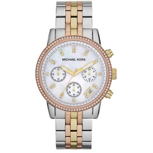 BRAND NEW Michael Kors Tri Tone Women's watch