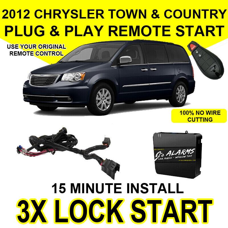 2012 Chrysler Town  U0026 Country Remote Start Add On 3x Lock