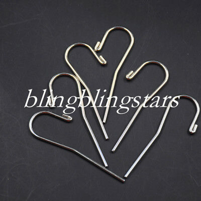 10 Pcs Dental Lip Hook Autoclavable For Apex Locator Canal Finder Stainless Stee