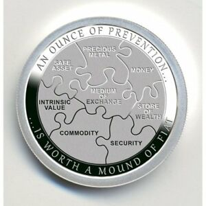 Ounce of Prevention - Security; by Chautauqua Silver Works