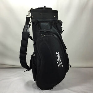 TITLEIST BLACK CART BAG