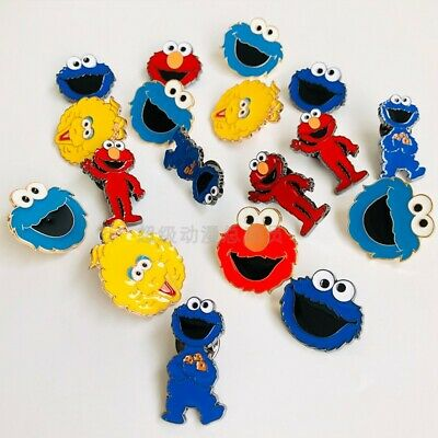 Elmo Bags (sesame street elmo cookie monster pins brooches bag cloth pendant pin)