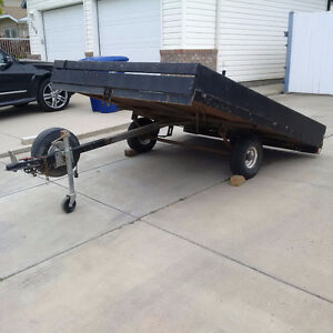 Tilting Utility Trailer - 7' X 8' ATV,Sled or Golf Cart transpor