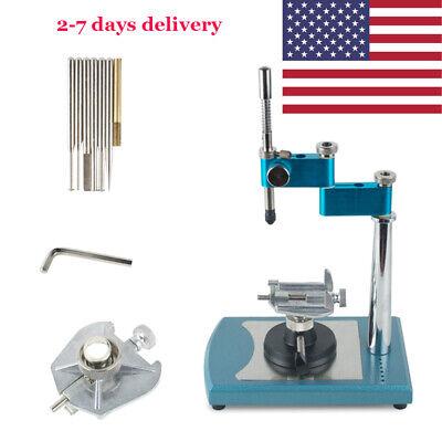 Dental Lab Parallel Surveyor Visualizer 7pcs Spindle Burs Dentistry Equipment