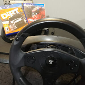 Thrustmaster T100 Force Feedback Wheel PS4 PS3PC Driveclub Dirt4