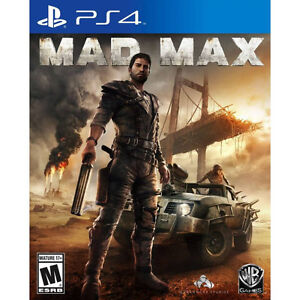 PS4 Games - Mad Max, Just Cause 3, Destiny + more!