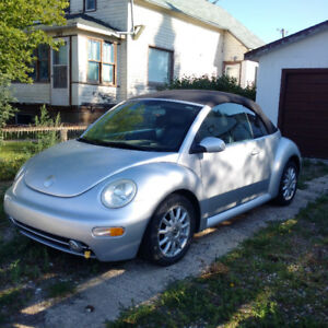 2005 VW New Beetle Convertible Cabriolet Automatic 2 door car